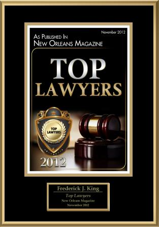 TOP LAWYER 2012